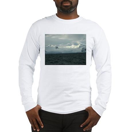Antarctica Sunset 2 Long Sleeve T-Shirt