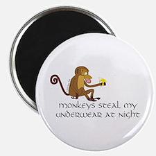 """Monkeys 2.25"""" Magnet (10 pack)"""