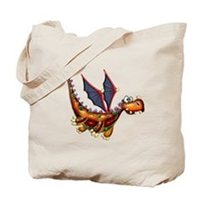 Goofy Flying Dragon Tote Bag