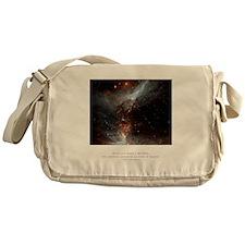 Universe Conspires Quote Messenger Bag