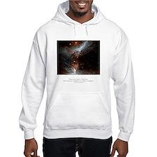 Universe Conspires Quote Jumper Hoody