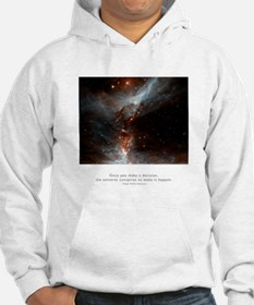 Universe Conspires Quote Jumper Hoody