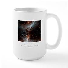Universe Conspires Quote Mug