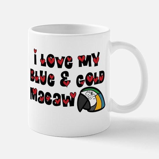Anime B&G Macaw Mug