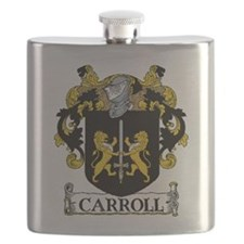 Carroll Coat of Arms Flask