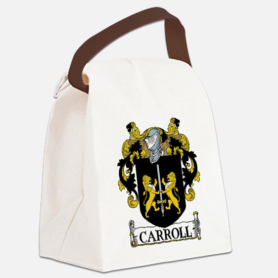 Carroll Coat of Arms Canvas Lunch Bag