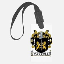 Carroll Coat of Arms Luggage Tag
