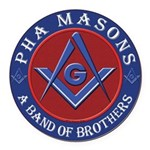 Prince Hall Masons. A band of brothers Round Car M