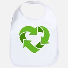 Recycling Heart Bib