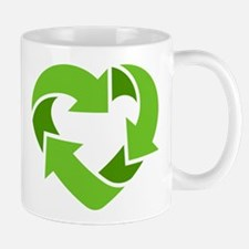 Recycling Heart Mug