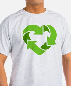 Recycling Heart T-Shirt