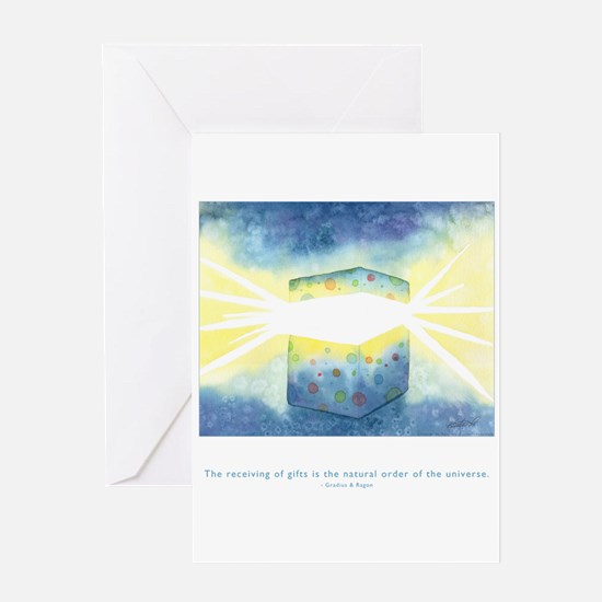 Receive Gifts Natural Quote Greeting Card