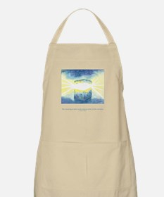 Receive Gifts Natural Quote Apron