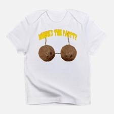 party nuts Infant T-Shirt