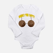 party nuts Long Sleeve Infant Bodysuit