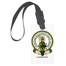 Carroll Clan Motto Luggage Tag