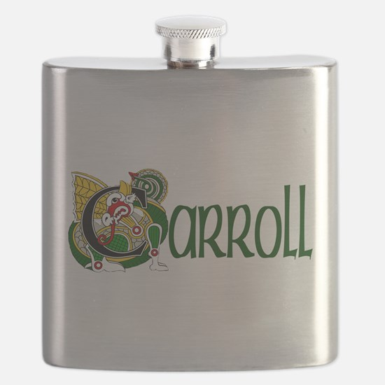 Carroll Celtic Dragon Flask