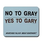 Gary Coleman for CA Governor Mousepad