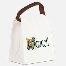 Carroll Celtic Dragon Canvas Lunch Bag