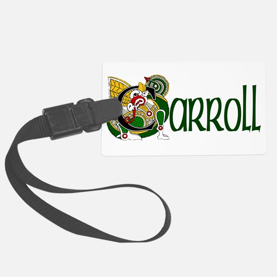 Carroll Celtic Dragon Luggage Tag