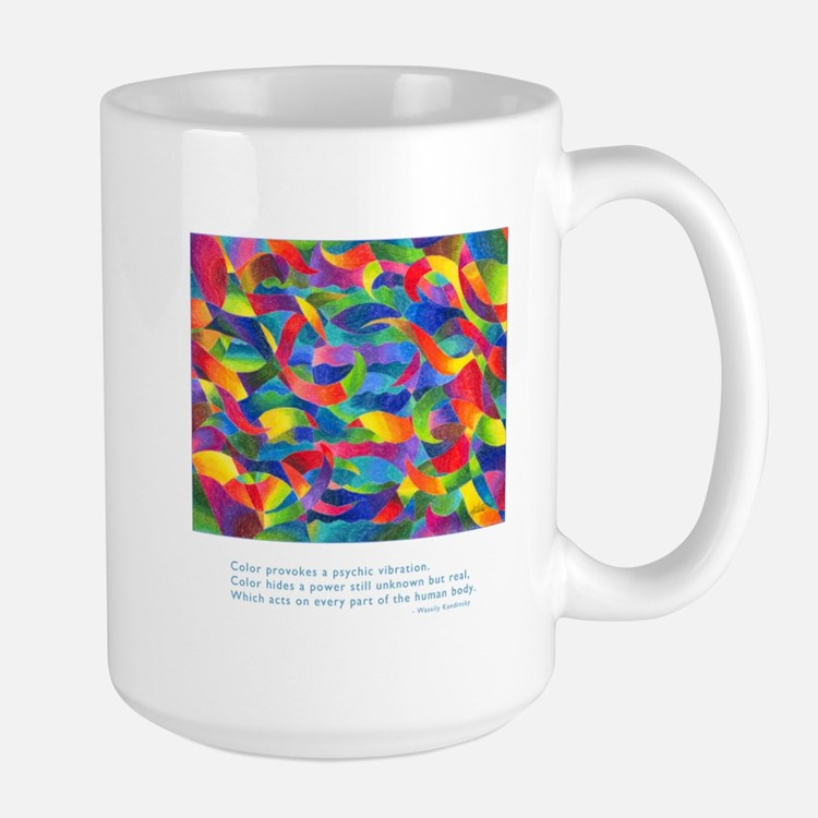 Color Power Quote Large Mug