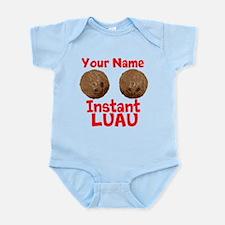 Custom Coconut Bra Infant Bodysuit