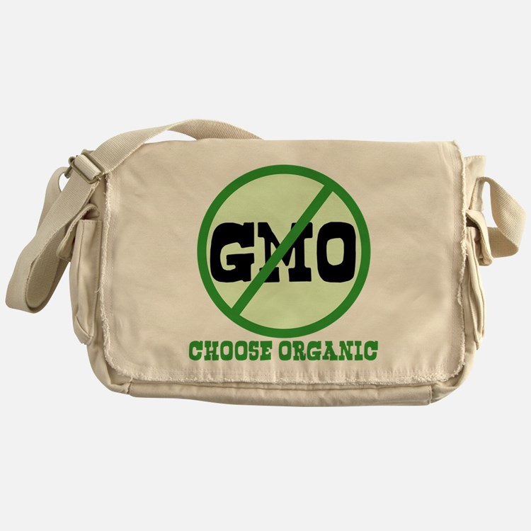 Say No to GMO Messenger Bag