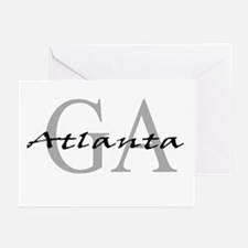 Atlanta thru GA Greeting Cards (Pk of 10)