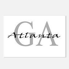 Atlanta thru GA Postcards (Package of 8)