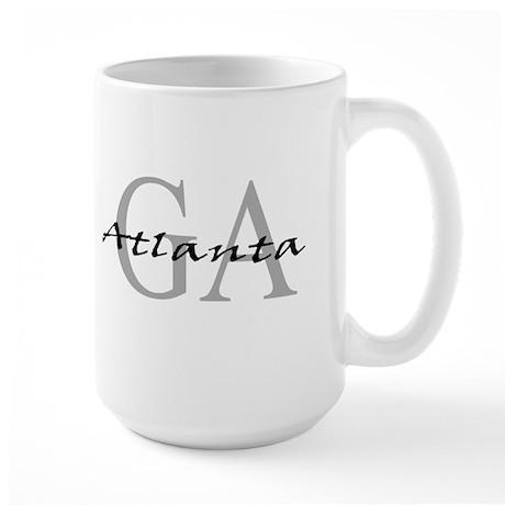 Atlanta thru GA Large Mug