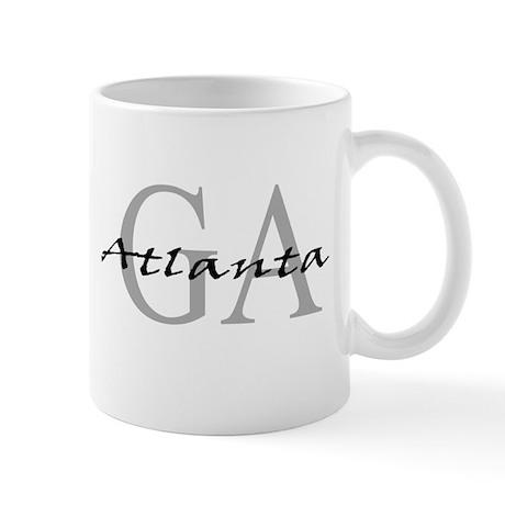Atlanta thru GA Mug
