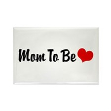 Mom To Be Rectangle Magnet