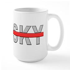 Sky RedLine Mug