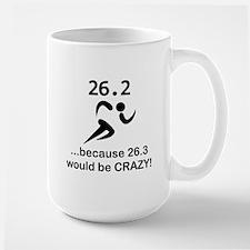 263 Would Be Crazy Black.png Large Mug