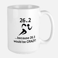 263 Would Be Crazy Black.png Mug