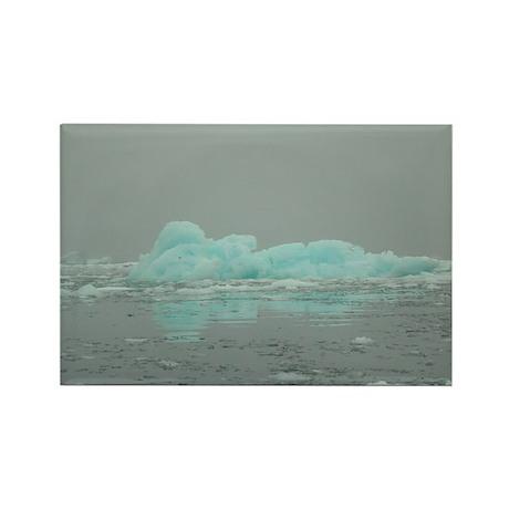Iceberg 3 Rectangle Magnet