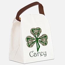 Carey Shamrock Canvas Lunch Bag