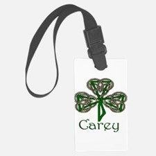 Carey Shamrock Luggage Tag