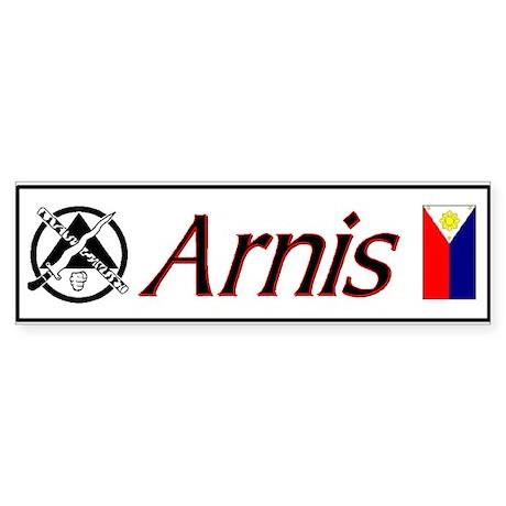 Arnis Bumper Sticker