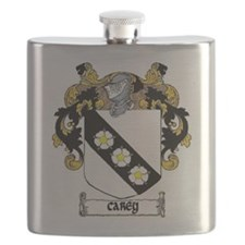 Carey Coat of Arms Flask