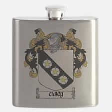 Carey Coat of Arms Flask