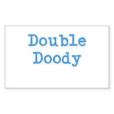 Double Doody Decal