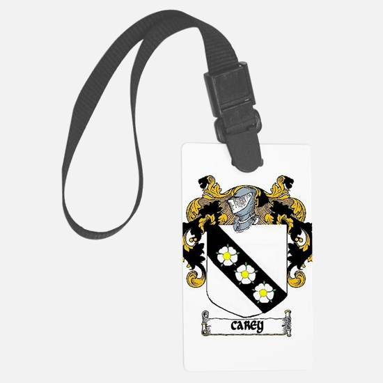 Carey Coat of Arms Luggage Tag