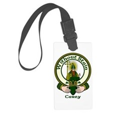 Carey Clan Motto Luggage Tag