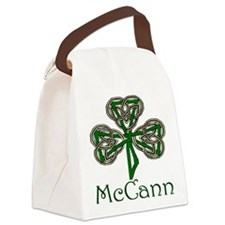 McCann Shamrock Canvas Lunch Bag