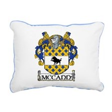 McCann Coat of Arms Rectangular Canvas Pillow