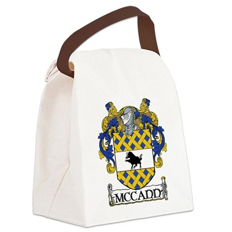 McCann Coat of Arms Canvas Lunch Bag