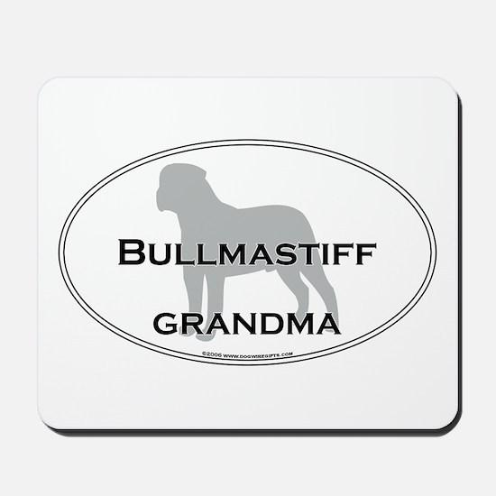 Bullmastiff GRANDMA Mousepad