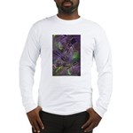 Long Sleeve T-Shirt with mystical dragonflies