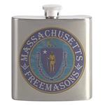 Massachusetts Masons Flask
